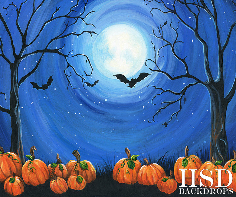 All Hallows Eve photography backdrop & background