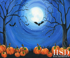 Halloween Photography Backdrop | All Hallows Eve