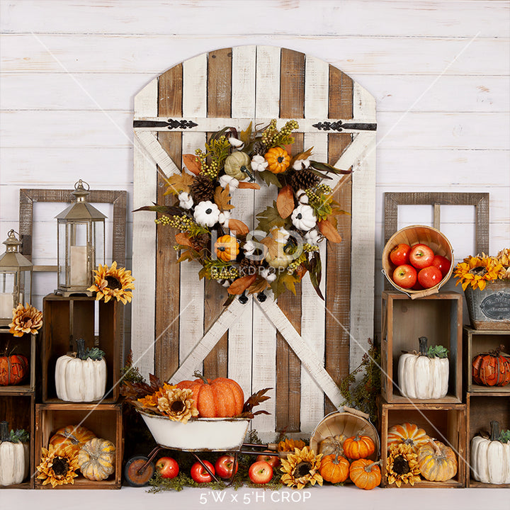 Signs of Fall photography backdrop & background