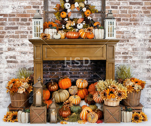 Cozy Autumn days photography backdrop & background