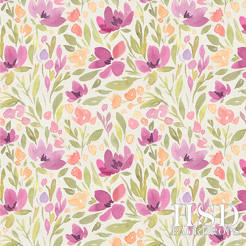 Photography Backdrop Background | Delilah Floral