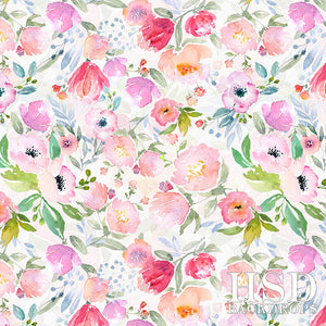 Reagan Floral photography backdrop & background