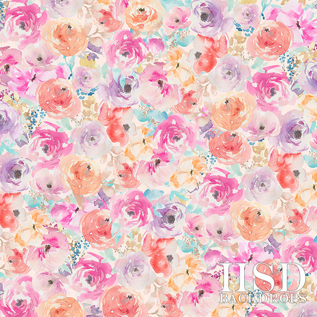 Photography Backdrop Background | Serenity Floral