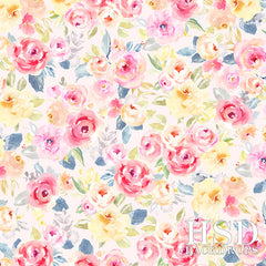 Photography Backdrop Background | Aurora Floral