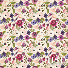 Floral Photography Backdrop Background | Isabelle
