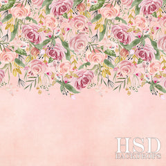 Floral Photography Backdrop Background | Cadence