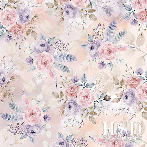 Floral Photography Backdrop | Camila