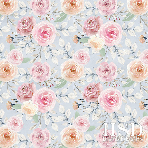 Floral Photography Backdrop | Emmy