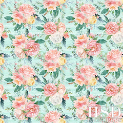 Floral Photography Backdrop Background | Eliza