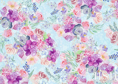 Floral Photography Backdrop Background | Lyla
