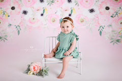 Floral Photography Backdrop Background | Kylie