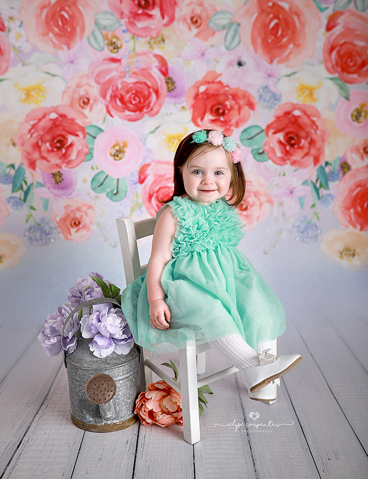 Floral | Raelynn photography backdrop & background