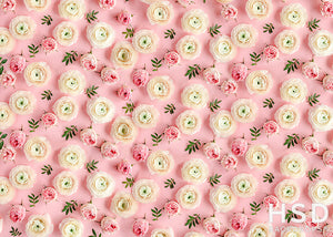Precious Peonies photography backdrop & background