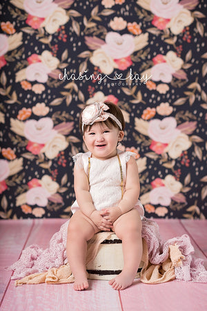 Antique Pink Shabby Chic - HSD Photography Backdrops