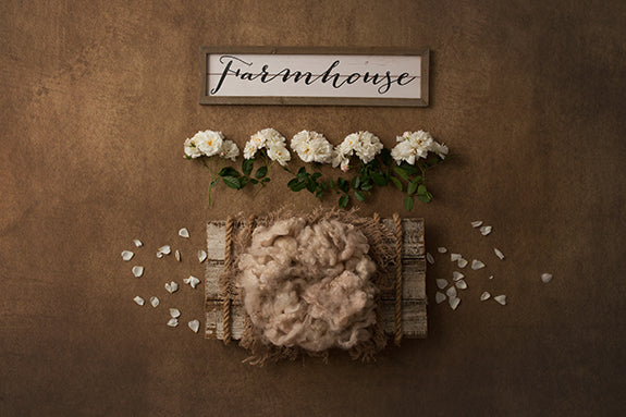 Digital Backdrop | Farmhouse II Coll. | Shabby Chic