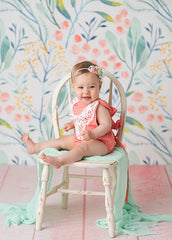 Photography Backdrop Background  | Maya Floral