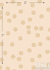 Photography Backdrop | Gold Speckles