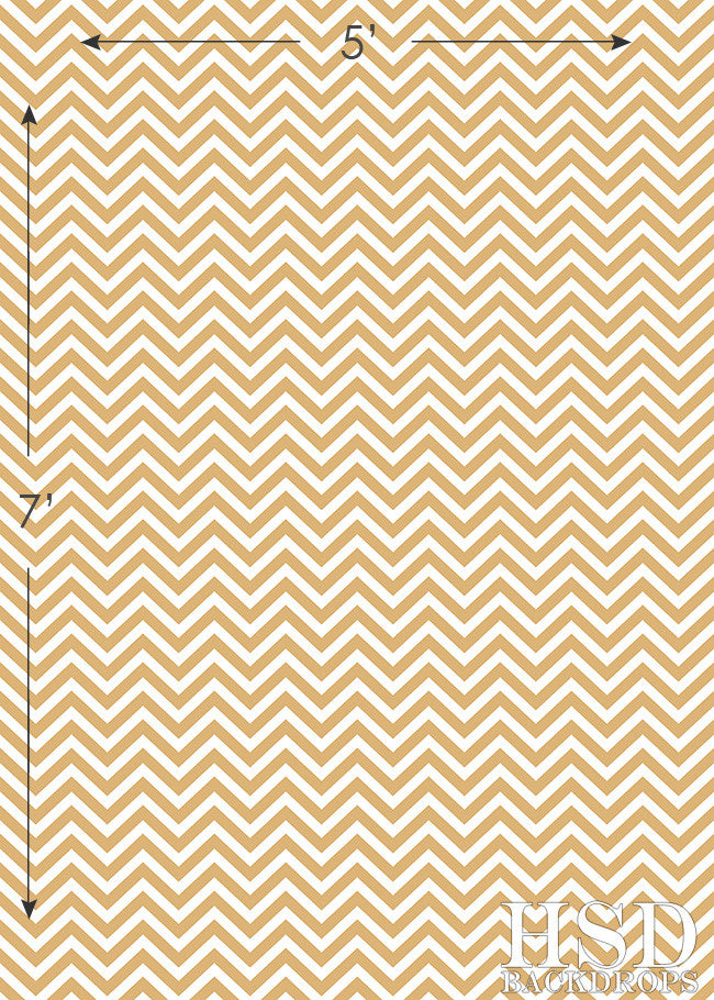 Gold Chevron photography backdrop & background