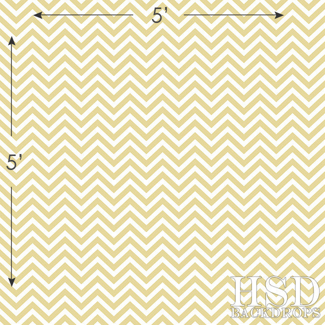 Photography Backdrop | Soft Yellow Chevron