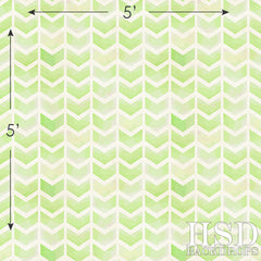 Photography Backdrop | Lime Green Chevron Arrows