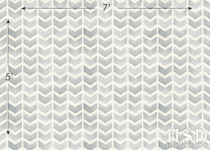 Grey Chevron Arrows photography backdrop & background