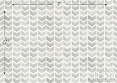 Photography Backdrop | Grey Chevron Arrows
