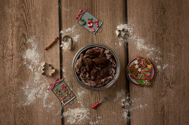 Digital Backdrop | Gingerbread Coll. | Gingerbread Cookies - HSD Photography Backdrops