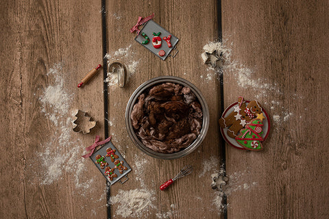 Digital Backdrop | Gingerbread Coll. | Gingerbread Cookies