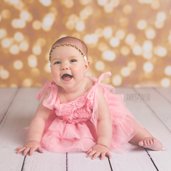 Photography Backdrop - Photo Background | Gold Bokeh