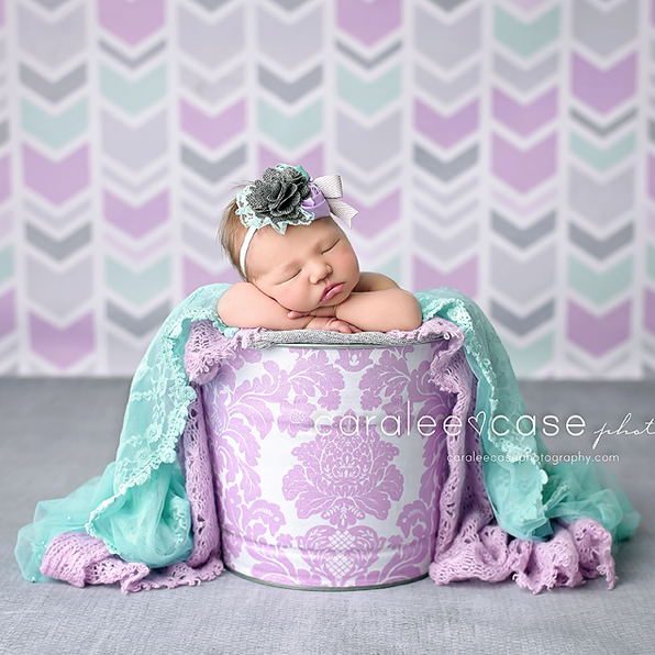 Mint & Lavender Arrows - HSD Photography Backdrops