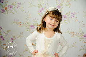 Addison Floral photography backdrop & background