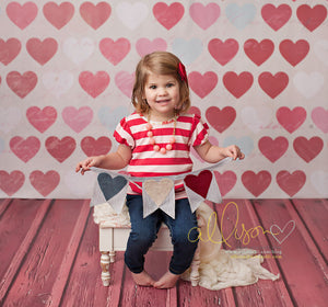 Hearts - HSD Photography Backdrops