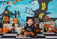 Halloween Photography Backdrop | Hocus Pocus