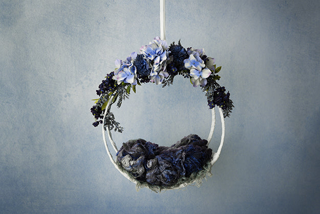 Midnight | Hanging Basket IV Coll. | Digital photography backdrop & background