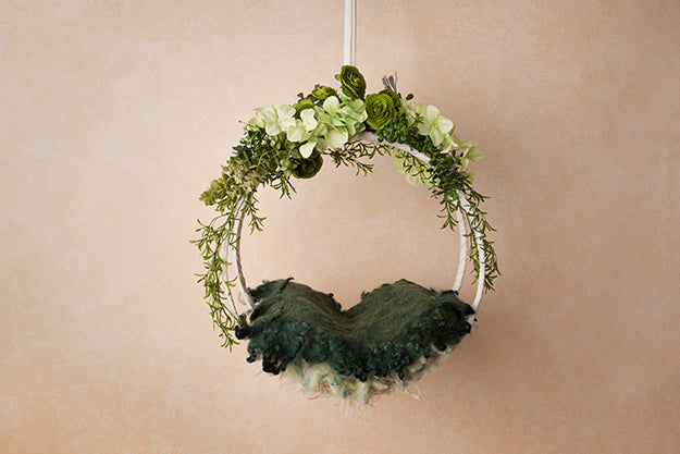 Digital Backdrop | Hanging Basket II Coll. | Ivy