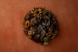 Burnt Orange Autumn Collection | Digital - HSD Photography Backdrops