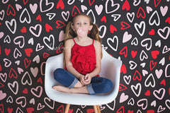 Valentine's Photography Backdrop | Be Still My Heart