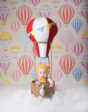Up and Away photography backdrop & background