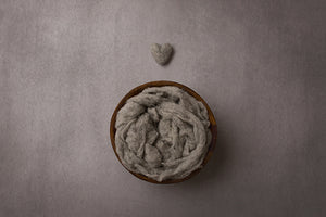 I Heart You Grey | Digital photography backdrop & background