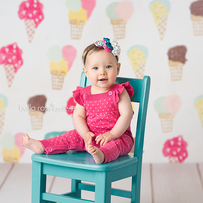 Photography Backdrop Photo Background | Ice Cream