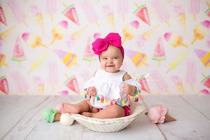 Sweet Ice Cream photography backdrop & background