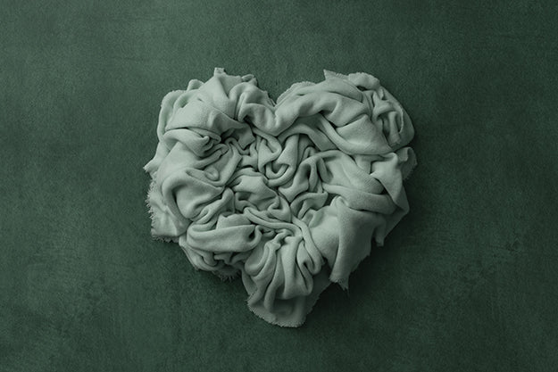 Newborn Digital Backdrop | In My Heart Green