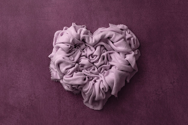 Newborn Digital Backdrop | In My Heart Purple photography backdrop & background