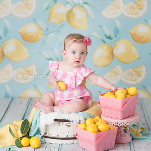 Lemons photography backdrop & background