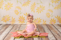 Photography Backdrop Floor Drop | Antiqued Weathered Panels