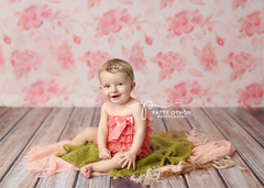 Photography Backdrop - Photo Background | Watercolor Flourish