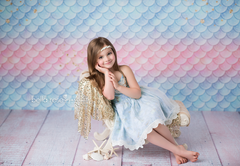 Photography Backdrop Background | Let's Be Mermaids