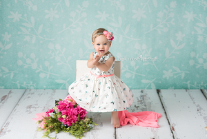 Botanical Mint photography backdrop & background