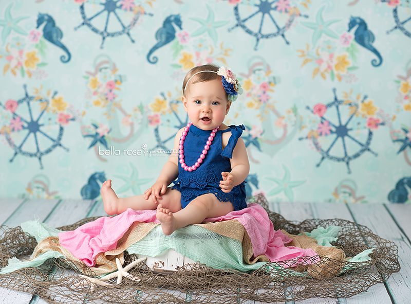Out to Sea photography backdrop & background