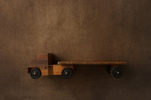 Wooden Truck | Oh Boy! Coll. | Digital photography backdrop & background